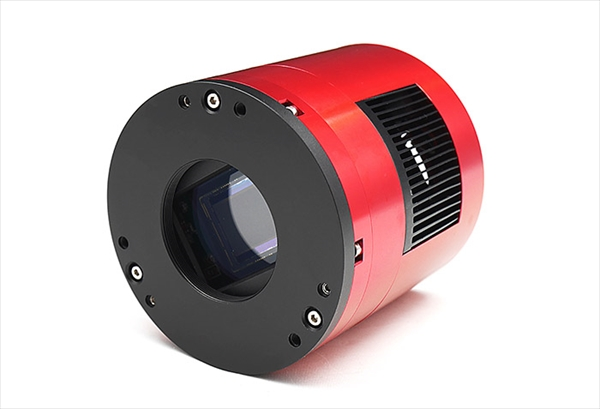 APS-Cサイズ冷却カラーCMOSカメラ ASI071MCPro カメラの外観 横