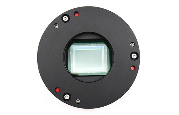APS-Cサイズ冷却カラーCMOSカメラ ASI071MCPro カメラの外観 下