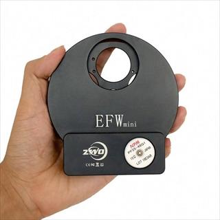 ZWO Mini電動式フィルターホイール 薄型USB, 5×1.25インチ,5×31mm用